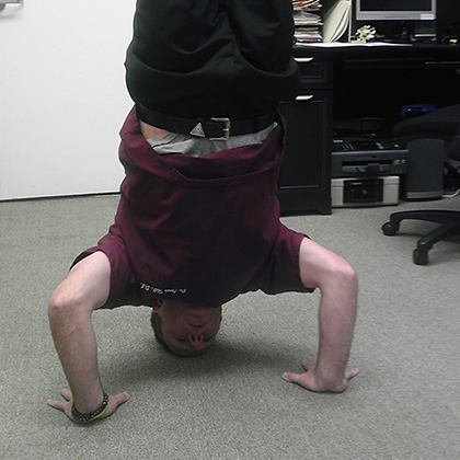 Dr. Thill - Head Stand